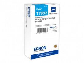 Cartus cerneala Epson T7892, cyan, capacitate 34ml, pentru Workforce Pro WP-5110DW, Workforce Pro WP-5190DW, Workforce Pro WP-5620DWF, Workforce Pro WP-5690DWF