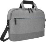 """Geanta notebook Targus, 15.6"""", Material: 300D, Multi-fit laptop cradle securely holds laptops and devices from 12"""" to 15.6"""", Additional file section and mesh pockets for clever compact storage, Grey"""
