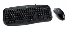 Kit Tastatura si Mouse Genius Smart KM-200, neagra