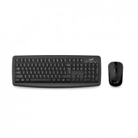 Kit Tastatura si mouse Genius Smart KM-8100, Wireless, neagra
