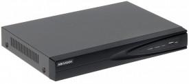 NVR Hikvision 8 canale POE DS-7608NI-K1/8P(C), 4K ultra HD, Incoming/Outgoing bandwidth 80/80 Mbps, rezolutie inregistrare: 8 MP/6 MP/5 MP/4 MP/3 MP/1080p/UXGA/720p/VGA/4CIF/DCIF/ 2CIF/CIF/QCIF, decoding: 4-ch @ 8 MP compresie: H.265/H.265+/H.264/H.264+/M