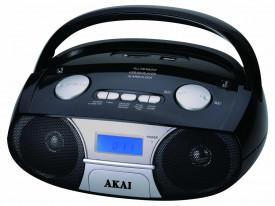 Radio portabil AKAI APRC-106, 3W, Negru
