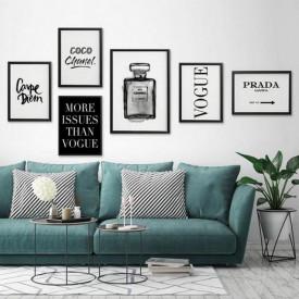 Set 6 tablouri decorative Designer