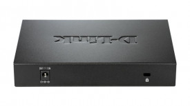 Switch D-Link DGS-108, 8 porturi Gigabit, Capacity 16Gbps, desktop, fara management, metal, negru