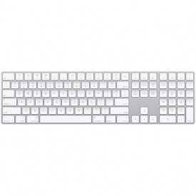 Tastatura Apple Magic Keyboard cu numpad, Layout US English, white
