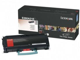 Toner Lexmark E260A21E, black, 3.5 k, E260 , E260d , E260dn ,E360d , E360dn , E460dn , E460dw , E462dtn