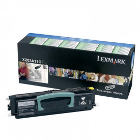 Toner Lexmark X203A11G, black, 2.5 k, X203n , X204n