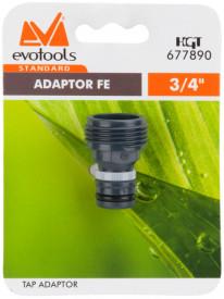 Adaptor FE ETS. / D[inch]: 3/4