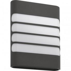 Aplica LED integrat pentru exterior Philips myGarden Raccoon, 1x3W (30W), 220-240V, lumina calda, 270 lumeni, durata de viata 25.000 de ore, IP44, culoare antracit, material oÈ›el inoxidabil/ materiale sintetice
