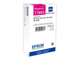 Cartus cerneala Epson T7893, magenta, capacitate 34ml, pentru Workforce Pro WP-5110DW, Workforce Pro WP-5190DW, Workforce Pro WP-5620DWF, Workforce Pro WP-5690DWF