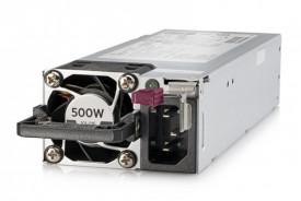 HPE 500W FS Plat Ht Plg Pwr Supply Kit