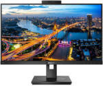 "Monitor 27"" PHILIPS 275B1, IPS, WLED, Anti-Glare, 3H, Haze 25%, 16:9, QHD 2560 x 1440, 75 Hz, 4 ms, 300 cd/mp, 1000:1, 178/178, Flicker-free, LowBlue Mode, EasyRead, Adaptive sync, DVI, DP, HDMI, 4* USB, audio out, boxe 2*2W, Kensington lock, VESA 100x100"