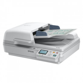 Scanner Epson DS-7500N, dimensiune A4, tip flatbed, viteza scanare: 40ppm alb-negru si color, rezolutie optica 1200x1200dpi, ADF 100 pagini, duplex, senzor CCD, Scan to Email, Scan to FTP, Scan to Microsoft SharePoint, Scan to Print, Scan to Web folders,