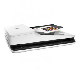 Scanner HP Scanjet Pro 2500 F1 Flatbed, dimensiune A4, tip flatbed, viteza scanare: max 20ppm/40ipm(300dpi), duplex, ADF 50 coli, rezolutie optica 600dpi, rezolutie digitala 1200x1200dpi, senzor CIS, software: HP Scanner Device Driver, HP WIA Scan Driver,