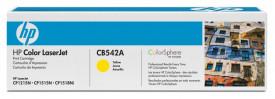 Toner HP CB542A, yellow, 1.4 k, Color LaserJet CM1312, ColorLaserJet CM1312NFI, Color LaserJet CP1215, Color LaserJet CP1515N, ColorLaserJet CP1518