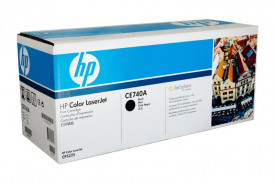 Toner HP CE740A, black, 7 k, HP Color LaserJet CP5220, Color LaserJet CP5225, Color LaserJet CP5225DN, Color LaserJet CP5225N