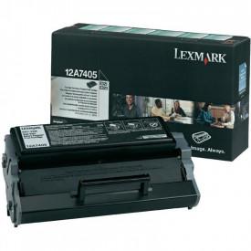 Toner Lexmark 12A7405, black, 6 k, E321 , E323 , E323n