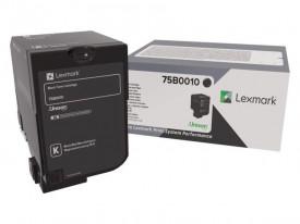 Toner Lexmark 75B0010 , negru, 13 k, CX727DE, CS727DE, CS728DE