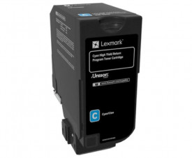 Toner Lexmark 84C2HC0, return program, cyan, 16k ,compatibil cuCX725DE, CX725DHE, CX725DTHE.