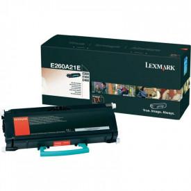 Toner Lexmark E260A31E, black, 3.5 k, E260 , E260d , E260dn ,E360d , E360dn , E460dn , E460dw , E462dtn