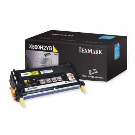 Toner Lexmark X560H2YG, yellow, 10 k, X560dn , X560n