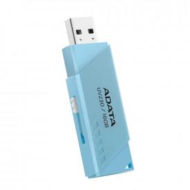 USB Flash Drive ADATA 32GB, UV230, USB2.0, retractabil, albastru