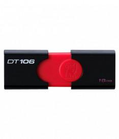 USB Flash Drive Kingston, 16GB, DT106, USB 3.1, Negru