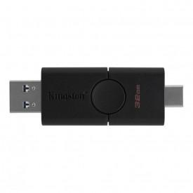 USB Flash Drive Kingston 32GB DataTraveler Duo, USB 3.2, black
