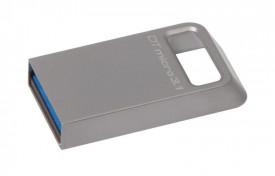 USB Flash Drive Kingston 64GB DataTraveler Micro 3.1, USB 3.1, 100MB/s read, 15MB/s write, metal
