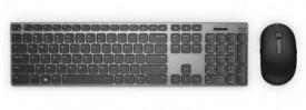 Kit tastatura si mouse Dell KM717, wireless, negru
