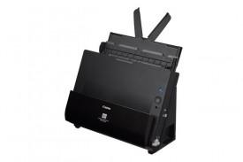 Scanner Canon DRC225II, dimensiune A4, tip sheetfed, viteza de scanare 25ppm alb-negru si color,50IPM, Duplex, rezolutie optica 600dpi, senzor CIS, software inclus: ISIS /TWAIN Driver (Windows 2000/XP Pro/XP Home/Vista/7/8/10), CaptureOnTouch, Nuance eCop