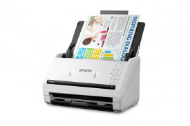 Scanner Epson DS-530II, dimensiune A4, tip sheetfed, viteza scanare: 70 ipm alb-negru si color, rezolutie optica 600x600dpi, ADF Single Pass 50 pagini, duplex, senzor CCD, Scan to Email, Scan to FTP, Scan to Microsoft SharePoint®, Scan to Print, Scan to