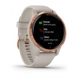 Smartwatch Garmin Venu Light Sand/Rose Gold SEU