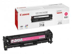 Toner Canon CRG718M, magenta, capacitate 2900 pagini, pentru LBP-7200Cdn