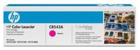 Toner HP CB543A, magenta, 1.4 k, Color LaserJet CM1312, ColorLaserJet CM1312NFI, Color LaserJet CP1215, Color LaserJet CP1515N, ColorLaserJet CP1518