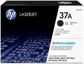 Toner HP, CF237A, Nr.37A , Black, 11K, Original, Laser EnterpriseM607N.