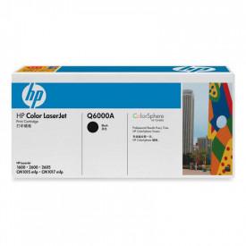 Toner HP Q6000A, black, 2.5 K, Color LaserJet 1600, ColorLaserJet 2600N, Color LaserJet 2605, Color LaserJet 2605DN, Color LaserJet 2605DTN, Color LaserJet CM1015 MFP, Color LaserJet CM1017 MFP