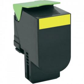 Toner Lexmark 80C0H40, yellow, 3 k, CX410de , CX410de with 3 yearOnsite Service , CX410dte , CX410e