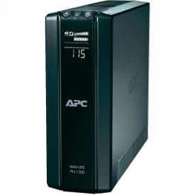 UPS APC Back-UPS RS line-interactive / aprox.sinusoida 1200VA / 720W 6conectori Schuko CEE7, baterie APCRBC124, optional extindere garantie cu1/3 ani (WBEXTWAR1YR-SP-01/WBEXTWAR3YR-SP-01)