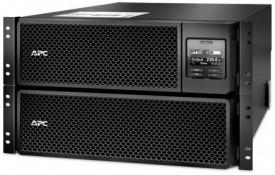 UPS APC Smart-UPS SRT online dubla-conversie 8000VA / 8000W 6 conectoriC13 4 conectori C19 extended runtime rackabil 6U, baterie APC RBC140,optional extindere garantie cu 1/3 ani (WBEXTWAR1YR-SP-06/WBEXTWAR3YR-SP-06)