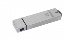 USB Flash Drive Kingston, 128GB, IronKey Basic S1000 Encrypted, USB 3.0, FIPS 140-2 Level 3