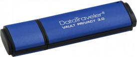 USB Flash Drive Kingston, 64GB, DTVP30, USB 3.0, 256bit AES Encrypted FIPS 197