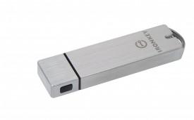 USB Flash Drive Kingston, 64GB, IronKey Enterprise S1000 Encrypted, USB 3.0, FIPS Level 3, Managed