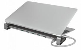 Adaptor Trust Dalyx Aluminium 10-in-1 USB-C Multi-port Dock