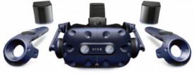 "HTC Vive Pro Virtual Reality Headset (Kit), 99HANW003-00; Display Type: AMOLED; Total resolution: 2880 x 1600; Screen size (inches): 3.5""; Sensors: Accelerometer, magnetometer, Gyroscope, Proximity sensor; Picture Matrix: PenTile Matrix;"