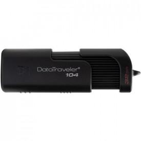 Kingston USB Flash Drive DataTraveler® 104, 32GB, USB 2.0, Negru