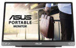 """Monitor 14"""" ASUS MB14AC, 16:9, IPS, FHD 1920*1080, non-glare, 250 cd/mp, 700:1, 178/178, 5 ms, flicker free, low blue light, USB Type-C, culoare gri inchis"""