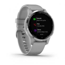 Smartwatch Garmin Vivoactive 4S Powder Gray/Silver SEU