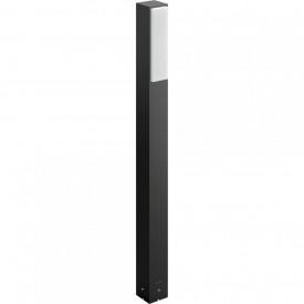 Stalp gradina LED integrat dimabil (reglabil) Philips myGarden Stratosphere, 2x 4.5W (40W), IP44, lumina alba calda, 1000 lumeni, durata de viata 30.000 de ore, material aluminiu, culoare antracit, dimensiuni 77x6x7.6cm;