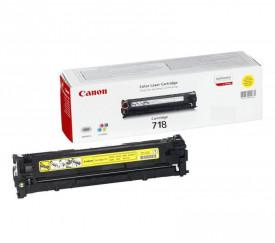 Toner Canon CRG718Y, yellow, capacitate 2900 pagini, pentru LBP-7200Cdn